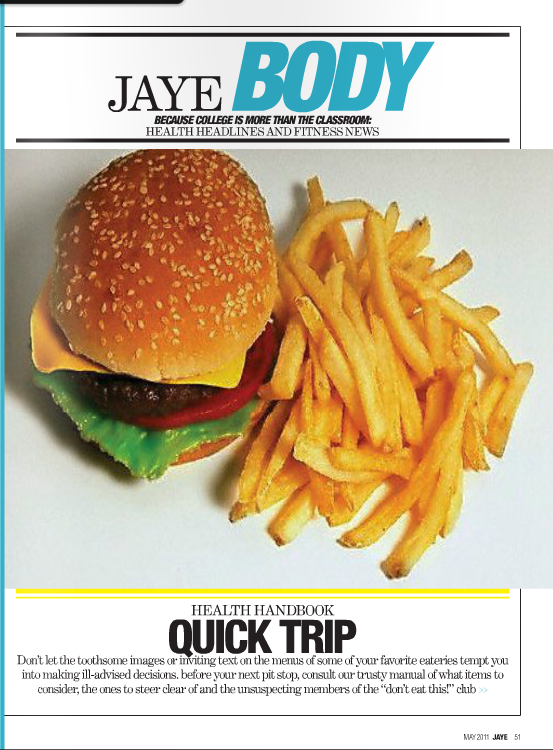 Road Trip Food Guide Page 1