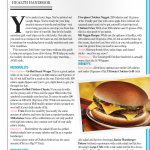 Road Trip Food Guide Page 2
